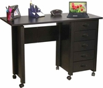 Folding Mobile Desk & Craft Center [1017-FS-VH]