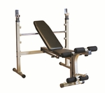 Folding Olympic Bench [BFOB10-FS-BODY]