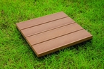 Four Piece Bamboo Composite Deck Tiles [N4-OT02-FS-NSRT]