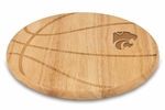 Free Throw Cutting Board - Kansas State University Engraved [840-00-505-253-0-FS-PNT]