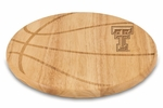 Free Throw Cutting Board - Texas Tech University Engraved [840-00-505-573-0-FS-PNT]