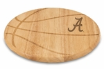 Free Throw Cutting Board - University of Alabama Engraved [840-00-505-003-0-FS-PNT]