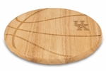Free Throw Cutting Board - University of Kentucky Engraved [840-00-505-263-0-FS-PNT]