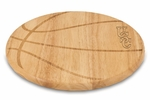 Free Throw Cutting Board - University of South Carolina Engraved [840-00-505-523-0-FS-PNT]