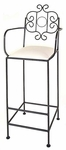 French Traditional 24'' Counter Stool [FT-24-FS-GCM]
