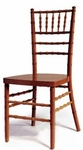 Fruitwood Finish Beechwood Stacking European Chiavari Chair with 16''W Seat [BSCFRU-AS]