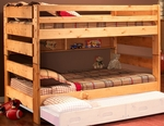 Full Over Full Bunk Bed - Cinnamon [3544144-4739-FS-CHEL]