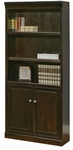 kathy ireland Home™ Fulton Collection 30''W x 72''H Bookcase with Lower Doors -Espresso [FL3072D-FS-KIMF]