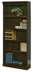 kathy ireland Home™ Fulton Collection 30''W x 72''H Open Bookcase -Espresso [FL3072-FS-KIMF]