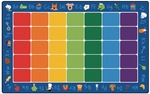 Fun With Phonics Reading Rug [9612-FS-CAP]
