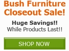 Bush Business Furniture Inventory Closeout Sale!! Save by
