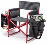 Fusion Chair - Dark Gray with Red [807-00-600-000-0-FS-PNT]