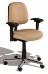 Fusion Medium Back Desk Height Chair - 4 Way Control [FSMD4-FS-CRA]