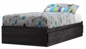 Fynn Collection Twin Mates Bed (39'') Grey Oak