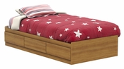 Fynn Collection Twin Mates Bed (39'') Harvest Maple
