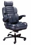 Galaxy 1pc Office Chair in Leather [OF-GLXY1PC-L-FS-ARE]