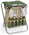 Gardener Storage Tote - Hunter Green [542-93-121-000-0-FS-PNT]