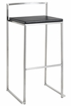 Genoa Bar Stool in Black [HGBO112-FS-NVO]