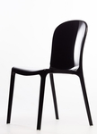 Genoa Polycarbonate Dining Chair - Black [RPC-GENOA-BL-CSP]