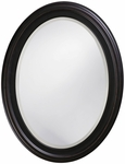 George Oil Rubbed Bronze Oval Mirror [40108-FS-HEC]