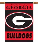 Georgia Bulldogs 2-Sided 28'' X 40'' Banner with Pole Sleeve [96007-FS-BSI]