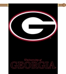 Georgia Bulldogs 2-Sided 28'' X 40'' Banner with Pole Sleeve - Logo Design [96307-FS-BSI]