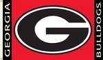 Georgia Bulldogs 3' X 5' Flag with Grommets [95007-FS-BSI]