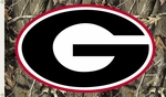 Georgia Bulldogs 3' X 5' Flag with Grommets - Realtree Camo Background [95407-FS-BSI]