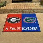 Georgia - Florida House Divided Mat 34'' x 45'' [6030-FS-FAN]
