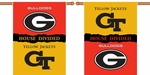 Georgia - Ga. Tech 2-Sided 28'' X 40'' Banner with Pole Sleeve House Divided [96749-FS-BSI]