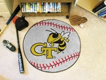 Georgia Tech Baseball Mat 27'' Diameter [2334-FS-FAN]