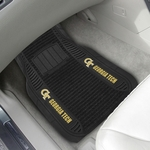 Georgia Tech Deluxe Car Mat 2 Pc 20'' x 27'' [14724-FS-FAN]