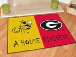Georgia Tech - Georgia House Divided Rugs 34'' x 45'' [6001-FS-FAN]