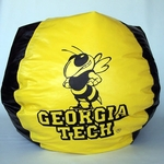 Georgia Tech Yellow Jackets Bean Bag Chair [BB-40-GT-FS-BBB]