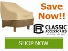 Get your Patio Furniture ready for the Winter and Save with Classic by
