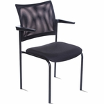 Getti Mesh Open Back Four Post Side Chair [GT3005-FS-VALO]