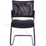 Getti Mesh Open Back Four Post Side Chair on Casters [GT3075-FS-VALO]