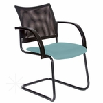 Getti Mesh Open Back Sled Base Side Chair [GT3105-FS-VALO]