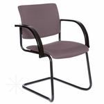 Getti Upholstered Open Back Sled Base Side Chair [GT3104-FS-VALO]
