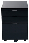 Gilbert File Cabinet in Black [27531BLK-FS-ERS]