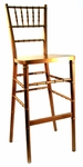 Gold Beechwood European Chiavari Bar Stool - 16.5''W X 16''D X 45.5''H [BBSGOLD-AS]