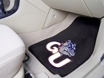 Gonzaga University 2-piece Carpeted Car Mats 18'' x 27'' [5177-FS-FAN]