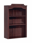 Governors 29'' W x 14'' D Overhead Storage - Engraved Executive Mahogany [7350-41-FS-DMI]
