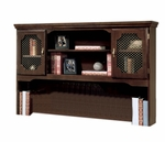 Governors 60'' W x 13'' D Overhead Storage - Engraved Executive Mahogany [7350-47-FS-DMI]