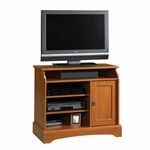 Graham Hill 30'' Highboy Wooden Entertainment Center with 2 Adjustable Shelves - Autumn Maple [408972-FS-SRTA]