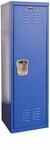 Grand Slam Blue Kids Standard Locker Unassembled - 15''W x 15''D x 48''H [HKL151548-1GS-HAL]
