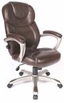 Granton Leather Executive Chair - Mocha Brown [60-5821-FS-COM]