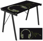 Graphic Headphone Top Exponent Desk [OFD-TM-PGHDPH-FS-LUMI]