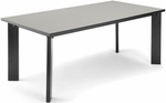 Library Conference Table 36'' D x 72'' W - Gray Nebula [KLIB3672-GRY-FS-MFO]