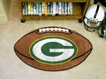 Green Bay Packers Football Rug [5755-FS-FAN]